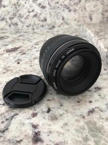 Lente Canon 50mm 1.4