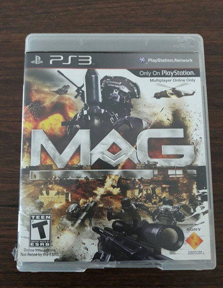 Game Mag (massive Action Game) - Ps3 (novo Lacrado)