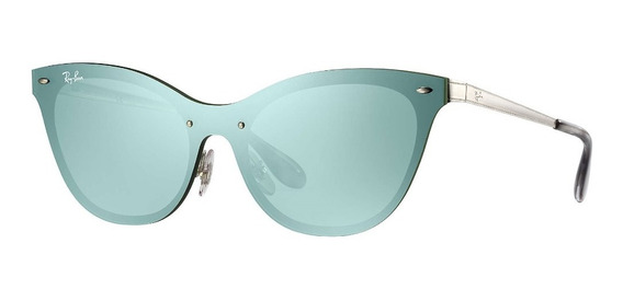 Lentes Ray Ban Aviador Cat Eye Blaze Original Rb3580 042/30