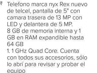 Nyx Rex Telcel