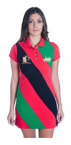 Vestido Polo Collection Diagonal Player
