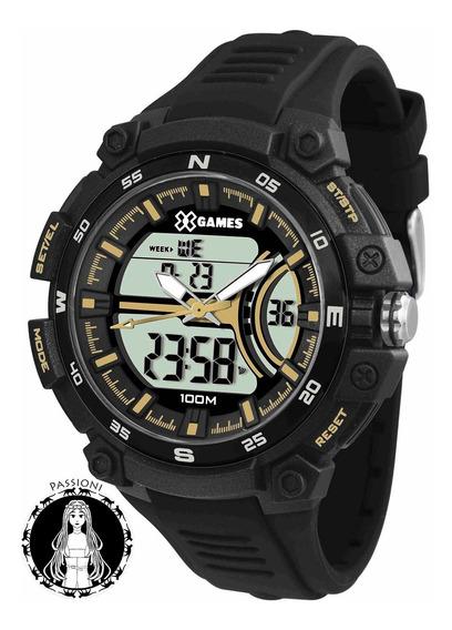 Relógio Xgames Anadigi - Xmppa258 Bxpx C/ Nf E Garantia O