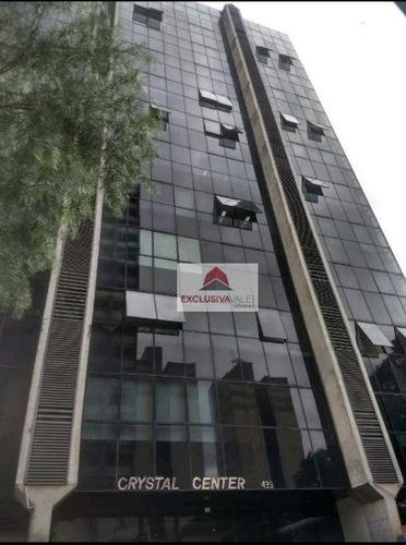 Sala Para Alugar, 98 M² Por R$ 2.450,00/mês - Centro - São José Dos Campos/sp - Sa0306