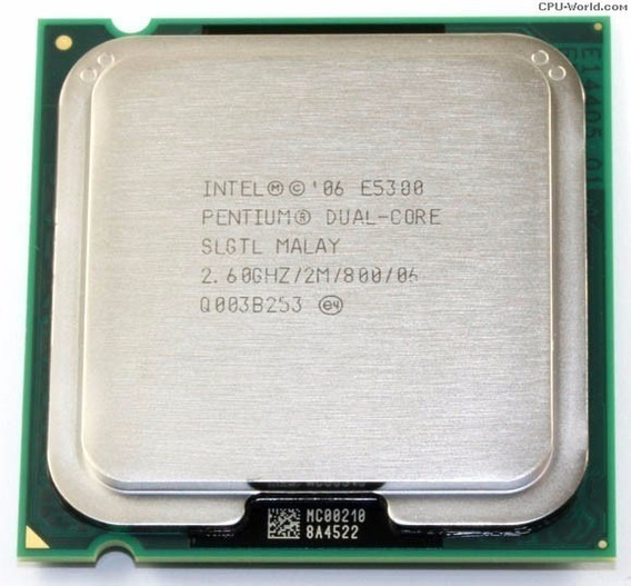 Processador Intel Pentium Dual Core Socket Lga 775