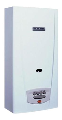 Calefon Orbis 315bbo Gn 14l Botonera Blanco Sensor C/enc