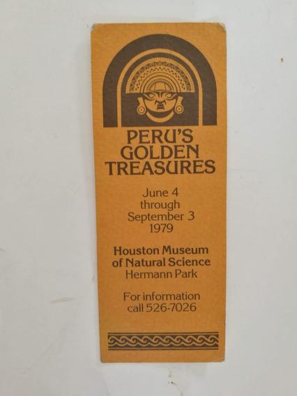 Señalador Del Año 1979 - Houston Museum Of Natural Science