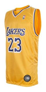 Camiseta Los Angeles Lakers Lebron James Oficial Nba Cke