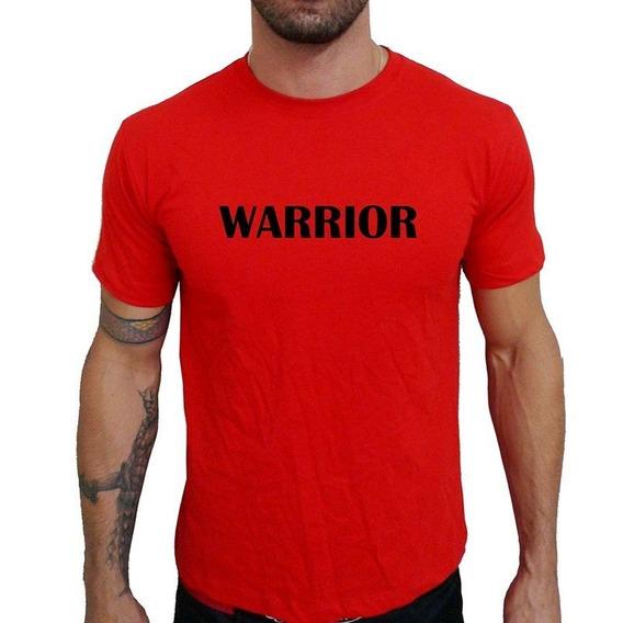 Camiseta Mma Shop Guerreiro Warrior Vermelho