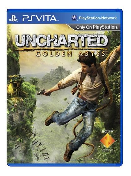 Uncharted Golden Abyss - Ps Vita - Usado - Original