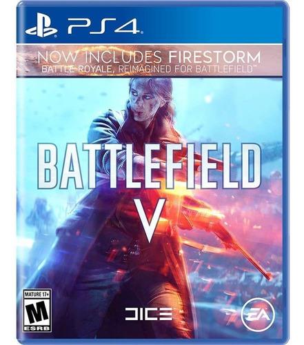 Imagen 1 de 3 de Battlefield 5 Con Firestorm Ps4 / Mipowerdestiny