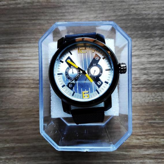 Relógio Masculino Beta - White Yellow - Pronta Entrega