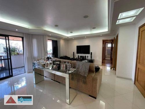 Imagem 1 de 30 de Apartamento À Venda, 160 M² Por R$ 1.970.000,00 - Jardim Anália Franco - São Paulo/sp - Ap6586