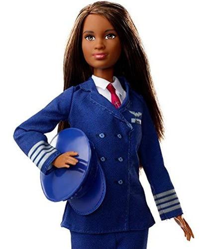 Imagen 1 de 4 de Barbie Carreras 60 Aniversario Muñeca Piloto