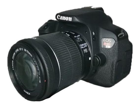 Câmera Canon T5i Usada Perfeita Pronta Entrega + Lente