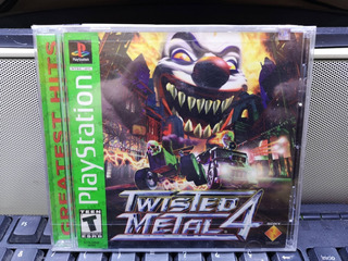 Psx - Ps One Twisted Metal 4 Totalmente Nuevo Y Sellado