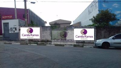 Terreno Residencial Para Locação, Centro, Suzano. - Te0070
