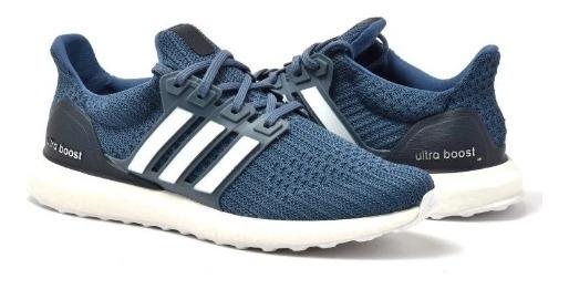 Tênis adidas Ultra Boost Azul C/ Branco