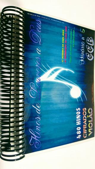 Hinos Cifrado Ccb 5 Caderno Compacto 480 Hinos-intermediário