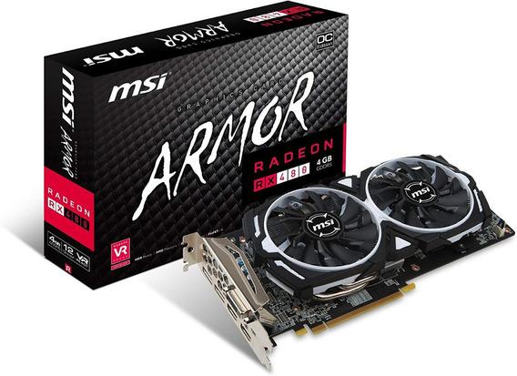 Placa De Video Msi Armor Rx 480 8 Gb Ddr5 256 Bits Gamer