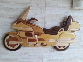 Moto De Madeira, Honda Goldwing - Asa De Ouro.