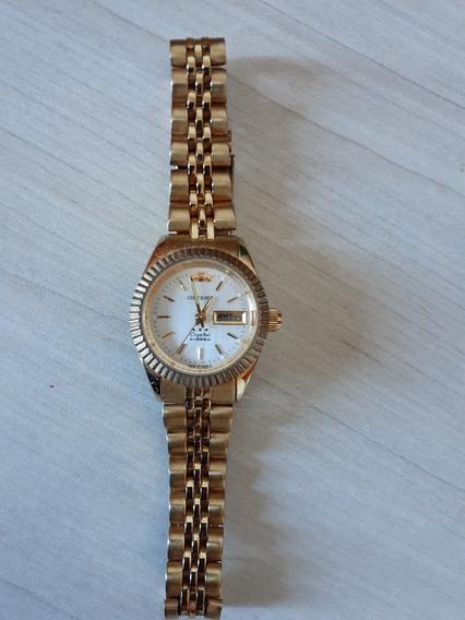 Relógio Orient Feminino Ref: 559eb1x Diâmetro 2,6cm