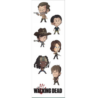 Plancha De Stickers De The Walking Dead Rick Grimes Tv