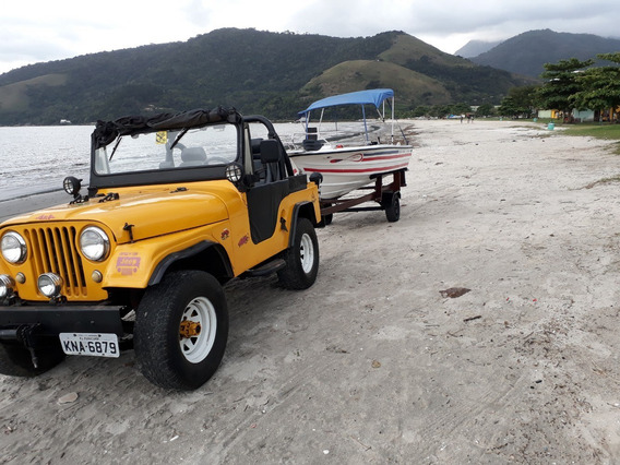 Jeep Ford, F-75, Ano 1975, Mais 1 Motor Willys 6 Cil.
