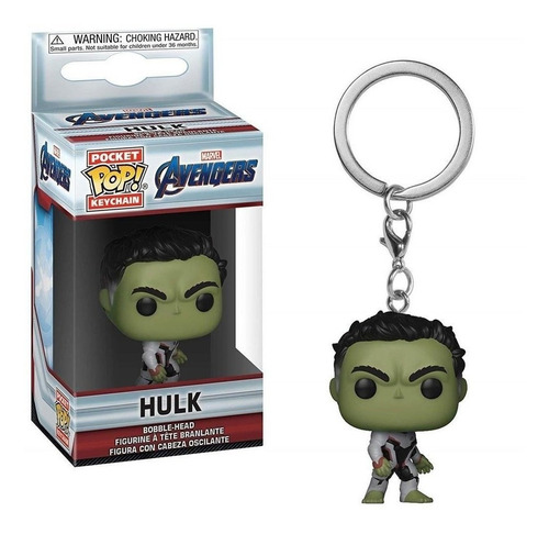 Llavero Funko Pop   Marvel - Endgame Hulk