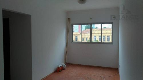 Imagem 1 de 10 de Apartamento Com 1 Dormitório À Venda, 45 M² Por R$ 169.000 - (oportunidade. P/ Investidor - Já Locado) - Botafogo - Campinas/sp. - Ap16153