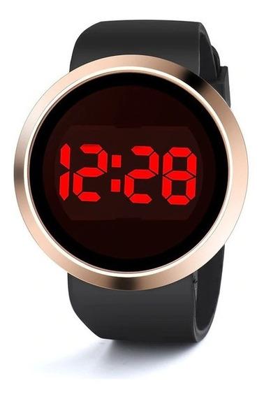 Relógio De Pulso Unissex Led Digital Básico