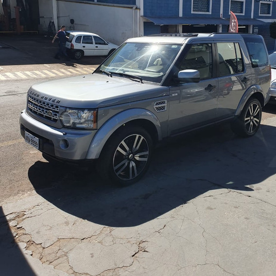 Land Rover Discovery 4 3.0 Biturbo Diesel Cinza 5 Portas