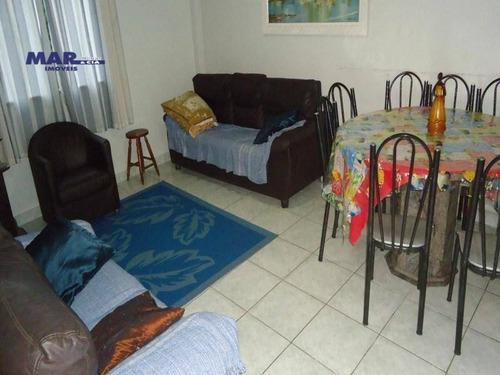 Imagem 1 de 7 de Apartamento Residencial À Venda, Barra Funda, Guarujá - . - Ap8597
