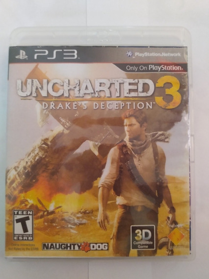 Jogo - Ps3 Uncharted 3