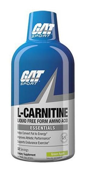 Gat Sport L- Carnitina 1500mg 437 Ml 32 Servicios