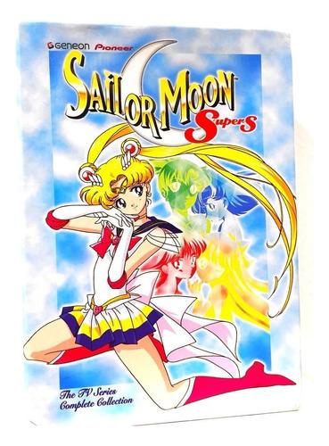 Sailor Moon Super S Temporada Completa En Dvd Original Nuevo
