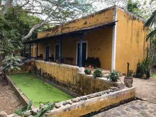 Hacienda Recreativa En Venta A Pocos Minutos De Mérida