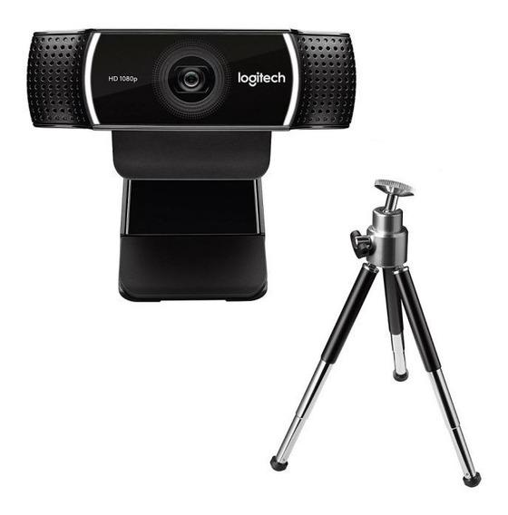 Webcam Logitech C922 Pro Streamer Full 1080p - 960-001088