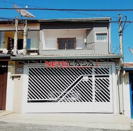 Casa Para Venda, Jardim São Paulo, 3 Dormitórios, 1 Suíte, 3 Banheiros, 2 Vagas - Cab0109