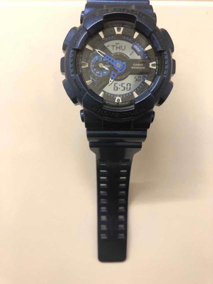 Relógio G-shock Original Azul Metálico Cor Rara Garantia