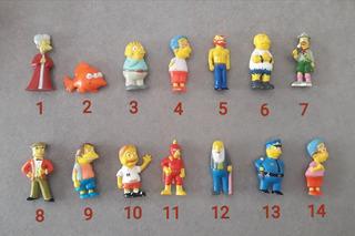 Muñecos Simpson. Chocolate Jack. Precio Por 3 Unidades