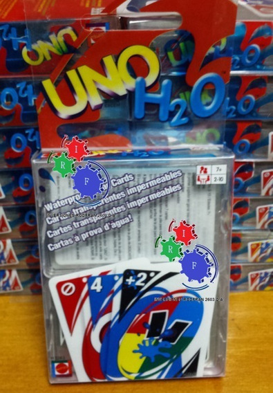 Cartas Uno H2o Originales (hay Punto D Venta-tienda Fisica)
