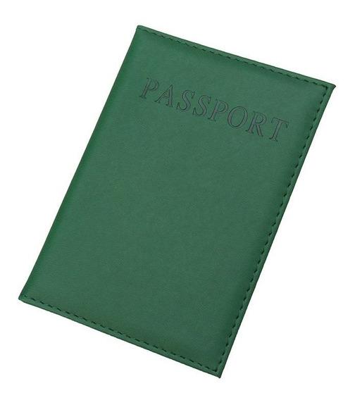 Funda Cubierta Porta Pasaporte 11 Colores
