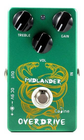 Pedal De Guitarra Caline Midlander Overdrive + Nf + Garantia