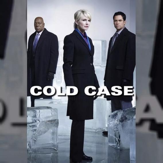 Dvd Cold Case 1ª A 7ª Temporada Completas Dubladas