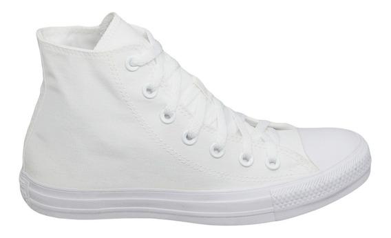 Tênis Converse Chuck Taylor All Star Monochrome Hi Branco