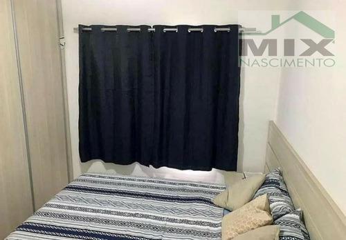 Apartamento Padrão Mobiliado Em Parque Terra Nova Ii  -  São Bernardo Do Campo - 3356