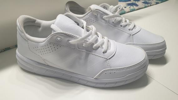 Zapatillas adidas Blancas Colegiales Talle 35