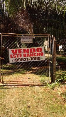 Rancho A 200 Metros Da Beira Do Rio Grande , Fronteira Mg