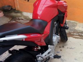 Honda Cbtwister 2016 Vermelha C/abs