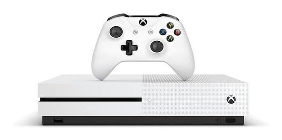 Xbox One S 1tb Slim 1 Ano De Garantia Lacrado + Brinde
